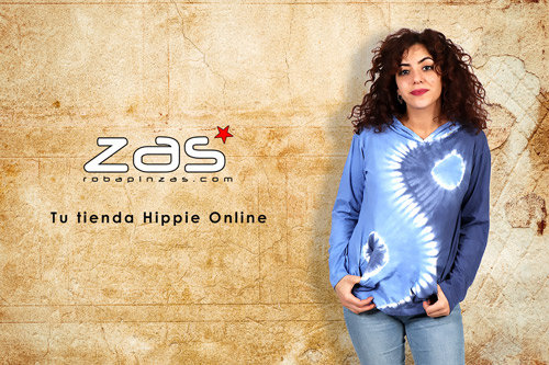 camisetas hippies de M Larga